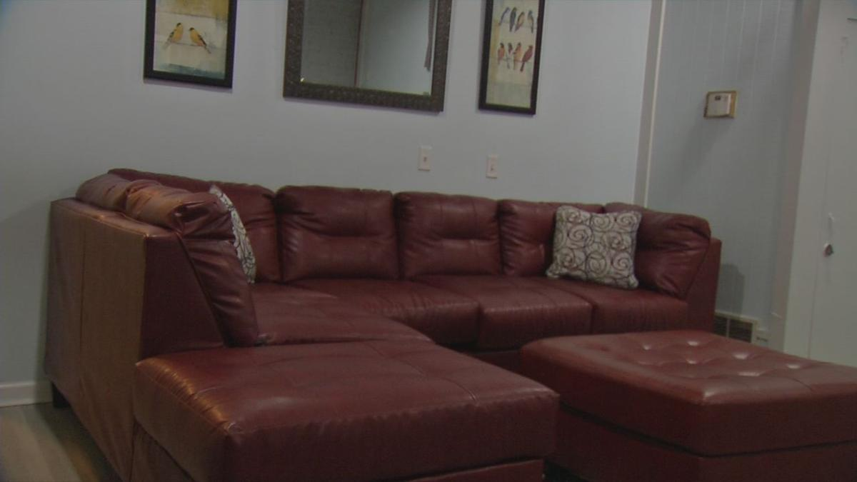 Ladies of Recovery addiction center couch