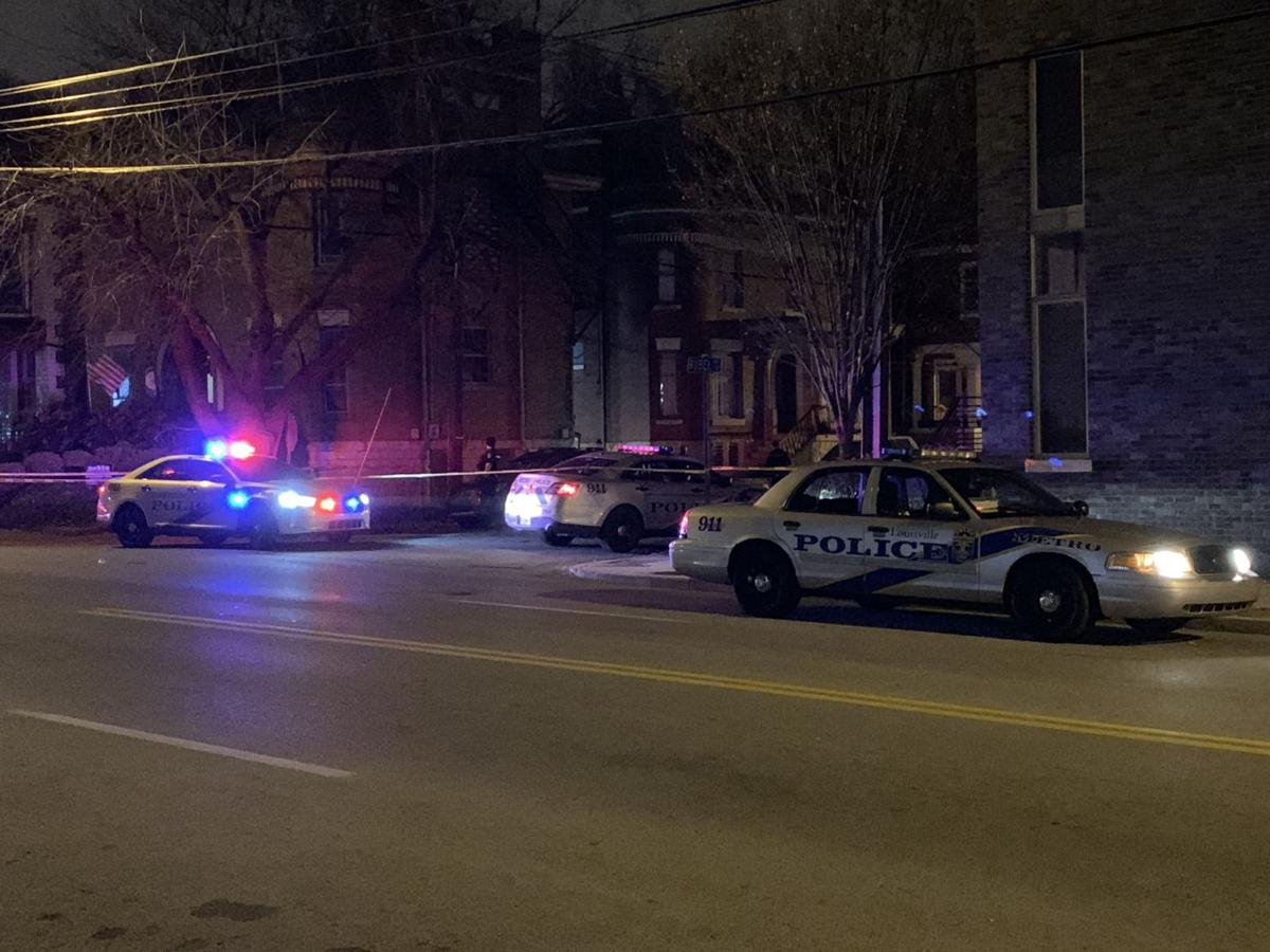 Broadway and Baxter shooting scene