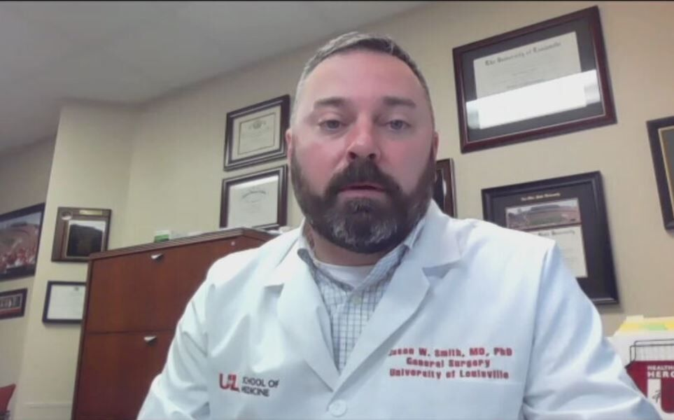 Dr. Jason Smith, U of L Health Chief Medical Officer discusses COVID-19 in Louisville