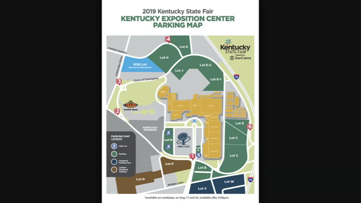 LMPD plans to close Phillips Lane to help traffic flow during ... on kentucky expo center, las vegas convention center map, orange county convention center map, kentucky international convention center map, indiana convention center map, mandalay bay events center map, tucson convention center map,