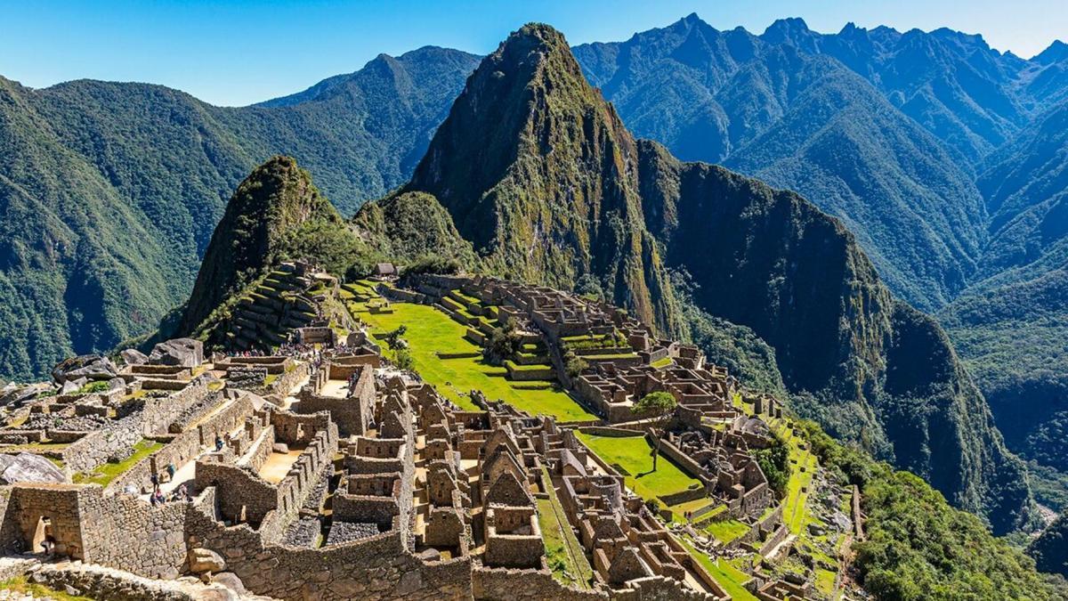 Ruins at Machi Picchu via iStock