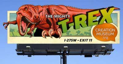 Creation Museum begins nationwide billboard campaign