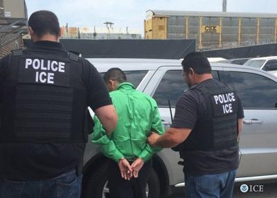 ICE makes 331 arrests, including 49 in Kentucky