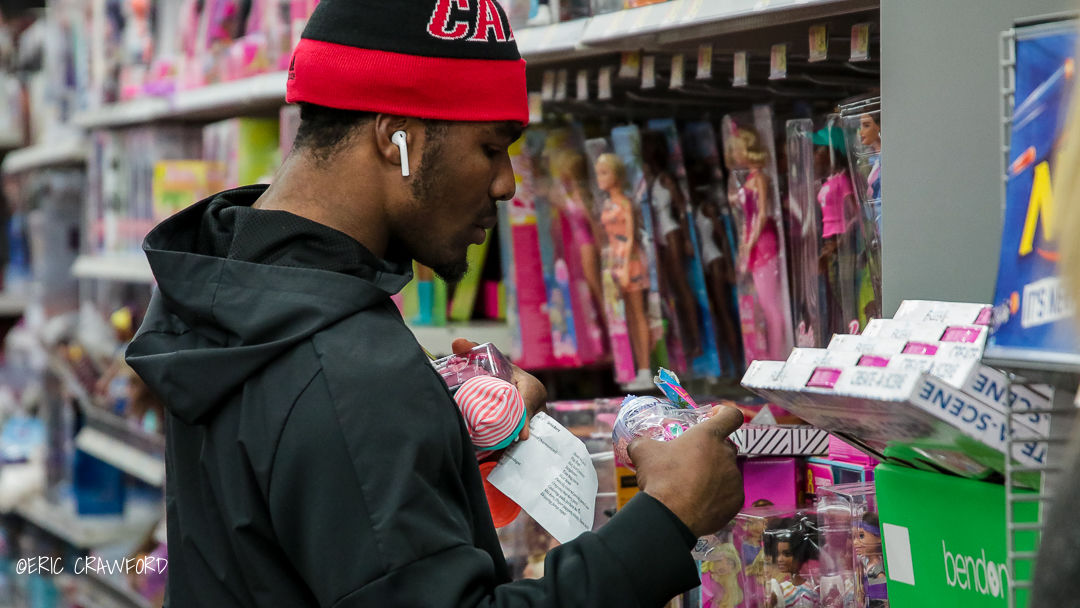Louisville football shopping trip