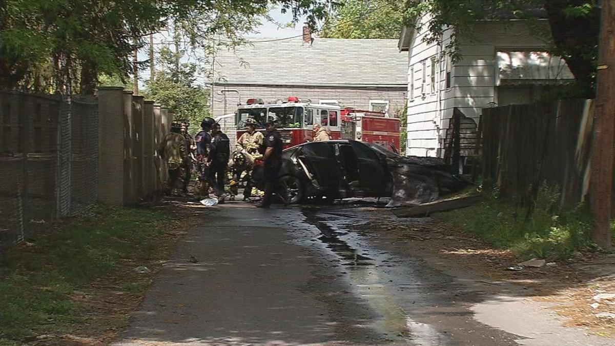 St. Louis Avenue Homicide Scene