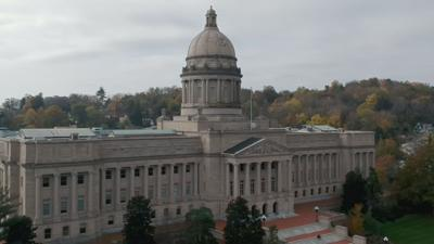 The Kentucky state Capitol in Frankfort, Ky.