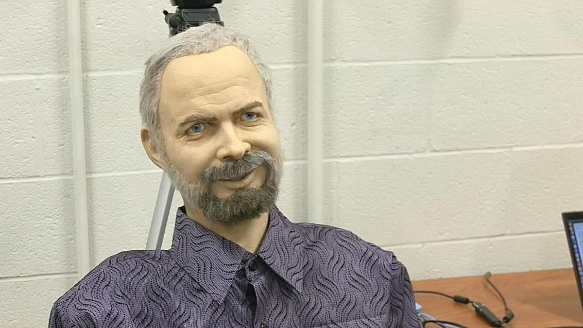 "U of L research robot 'Philip"""