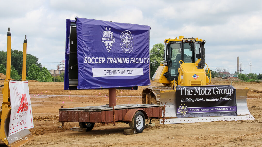 Louisville soccer training facility site