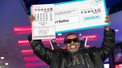 Retired postal worker plays same numbers for 25 years, hits $343.9M Powerball