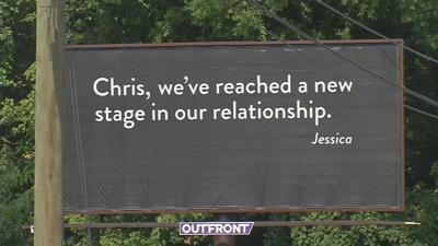 Mystery of 'Chris and Jessica' billboards revealed