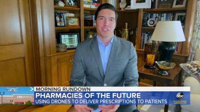 ABC News reporter Will Reeve, Coronavirus, no pants