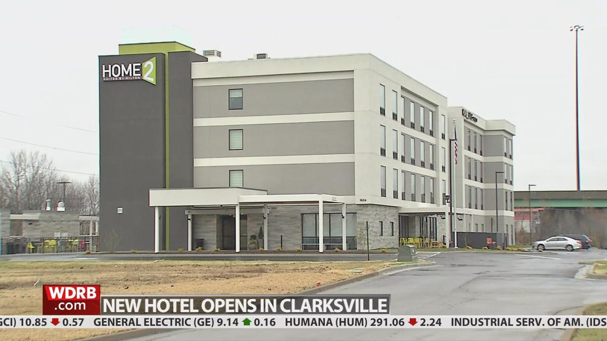 Hilton's Home2 Suites hotel opens in Clarksville