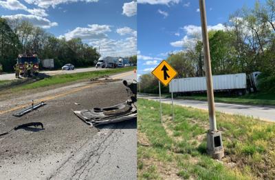 I-264 Crash Scene