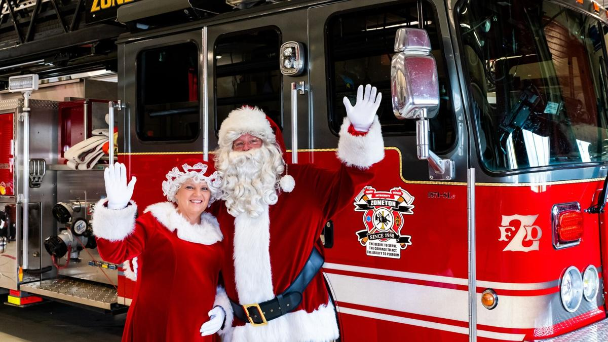 Zoneton Fire Protection District Santa event