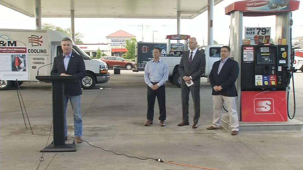 Kentucky Agriculture Commissioner Ryan Quarles presser on card skimming 5-13-19