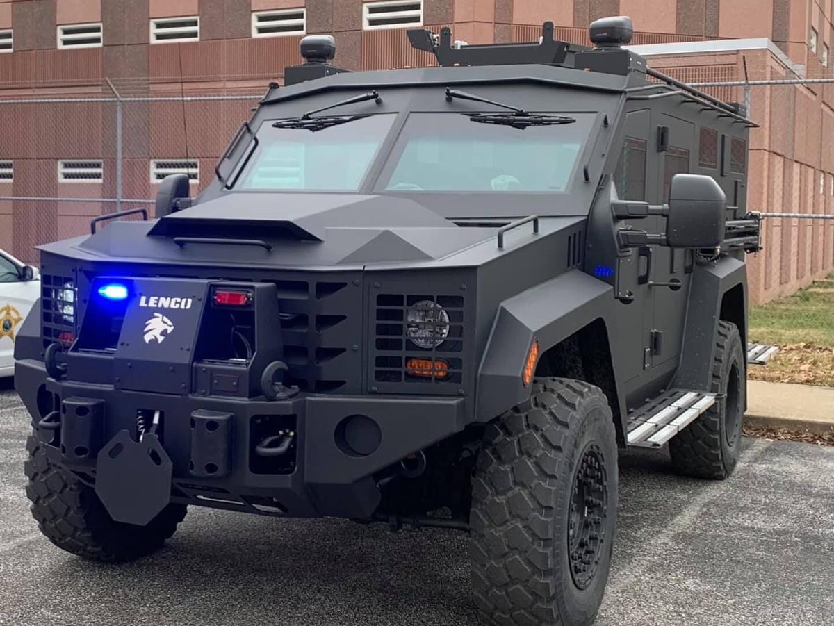 Harrison County SWAT Bearcat (armored vehicle)