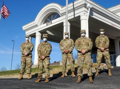 Kentucky National Guardsmen