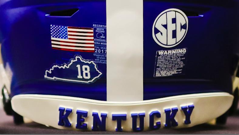 Kentucky football helmet
