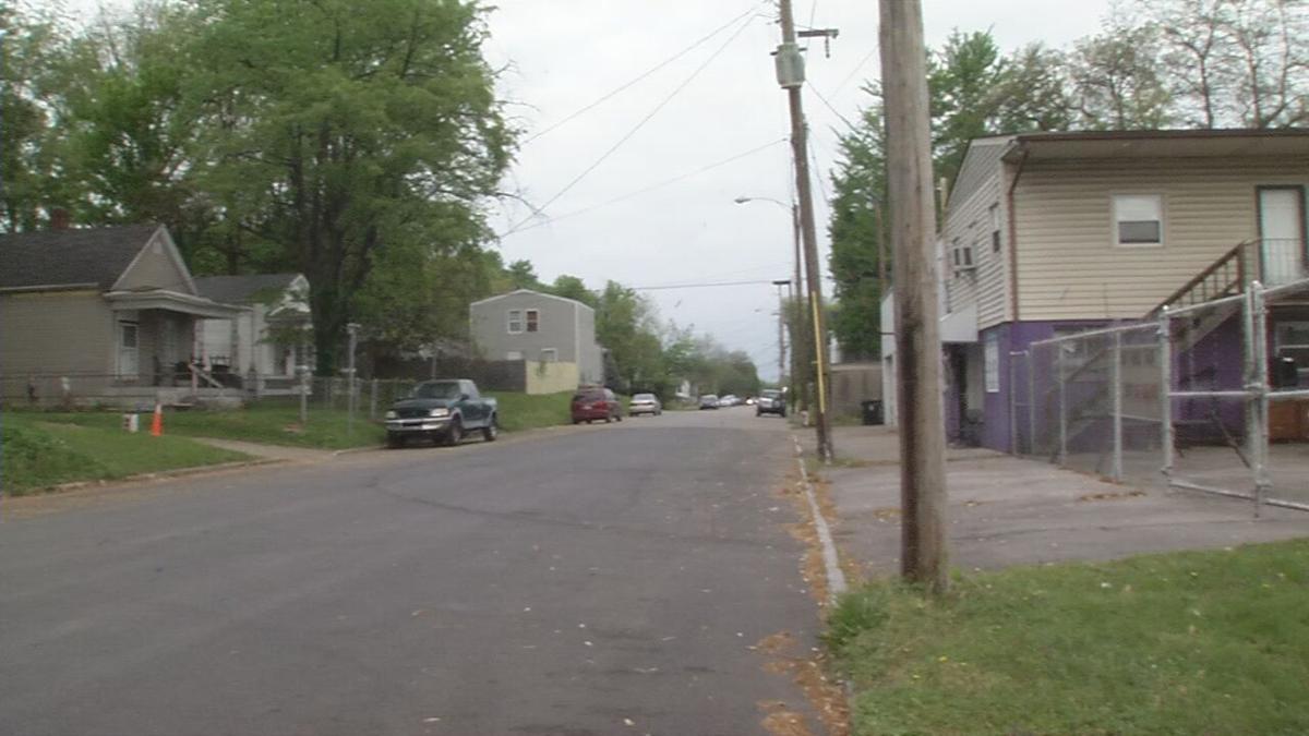 Scene of Howard Street homicide 4/28/21