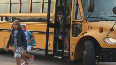 Oldham County students return to in-person classes (wearing masks)