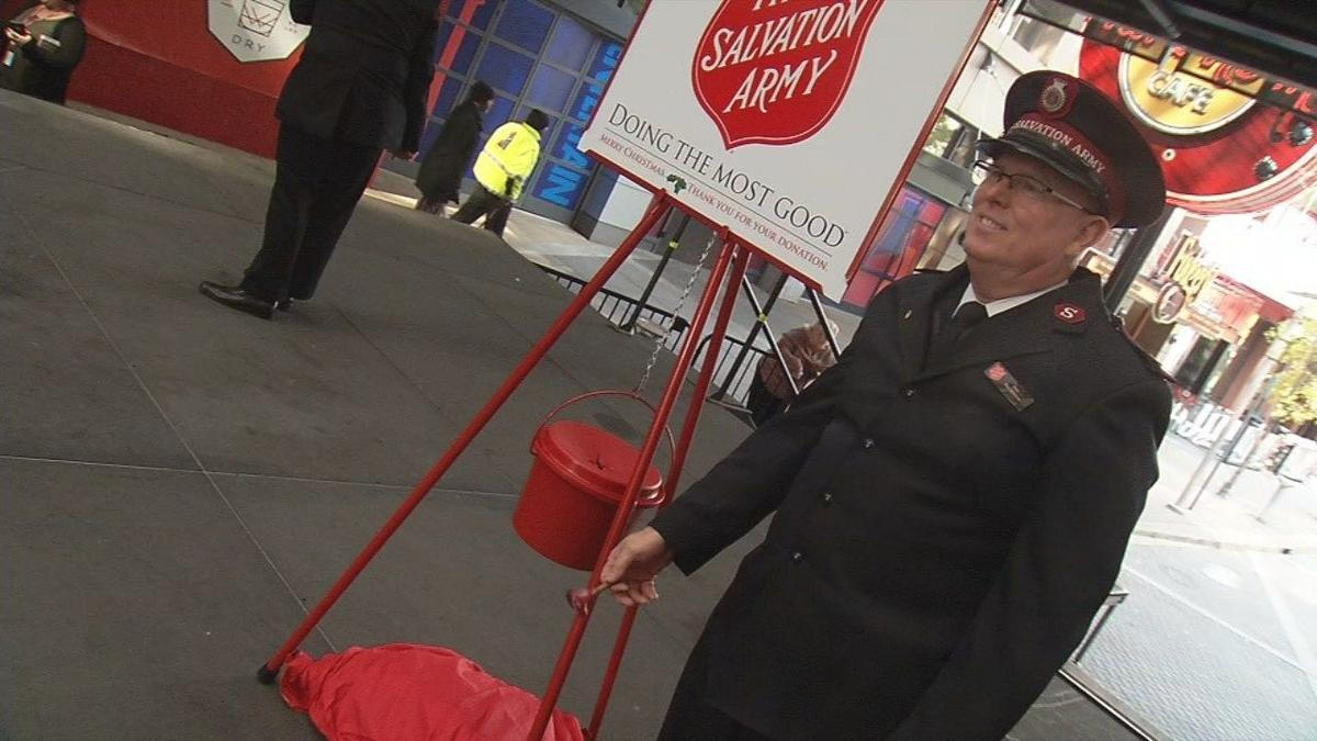 Salvation Army kicks off Red Kettle campaign with help from Linkin' Bridge, Bobby Petrino