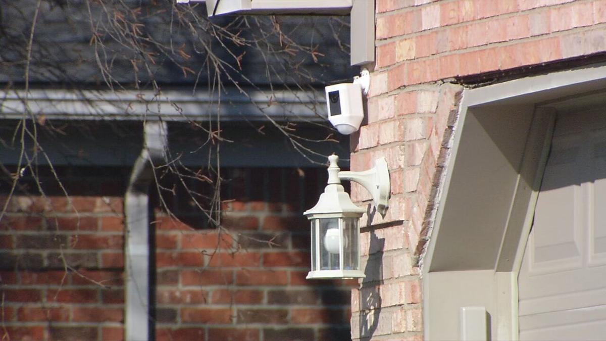 Home security camera in Floyd County
