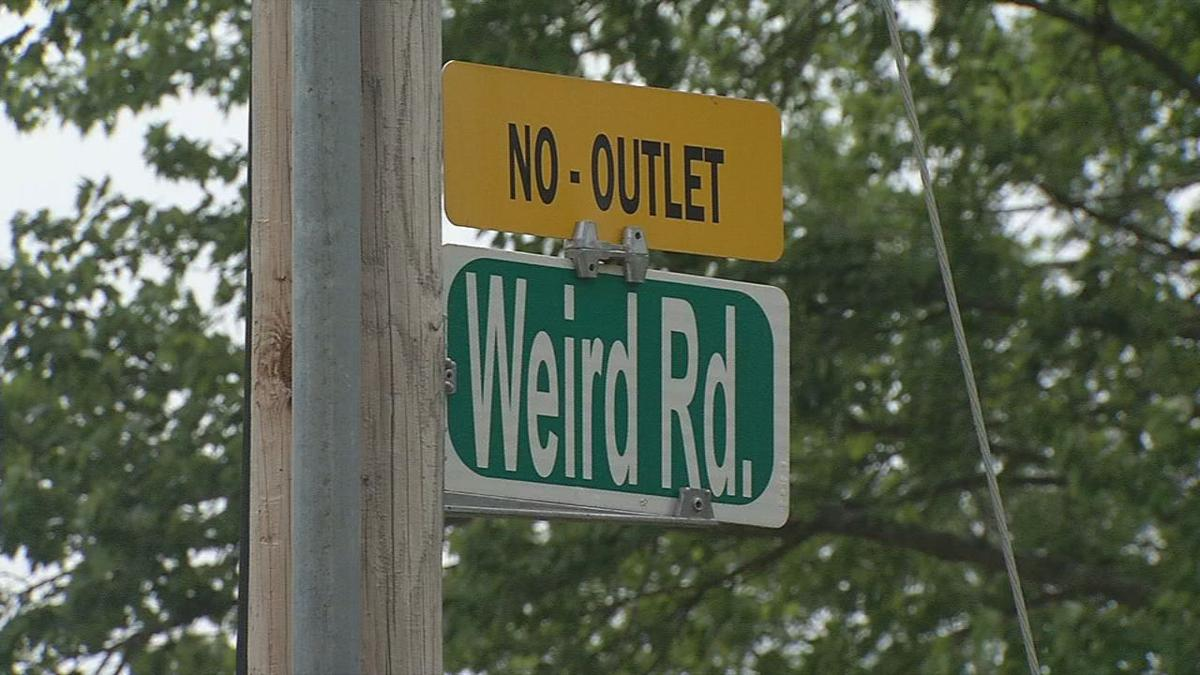 Weird Road Sign
