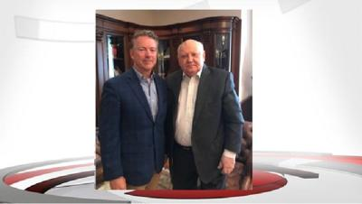 Rand Paul meets with former Soviet President Gorbachev in Moscow
