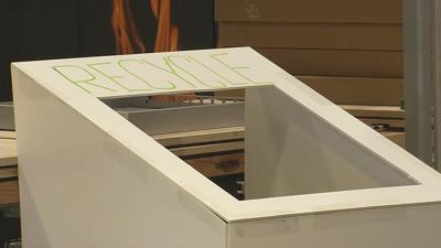 U of L students and staff create prototype to encourage more recycling