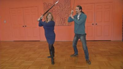 Learn stage combat with Kentucky Shakespeare