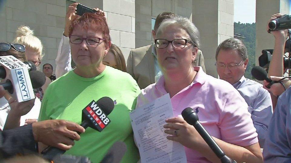 7c4304aa097 Lesbian couple who sued Kim Davis   This is about civil rights