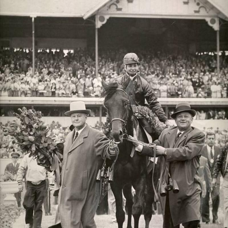 1957 Kentucky Derby jockey winner Bill Hartack. Courtesy: KentuckyDerby.com