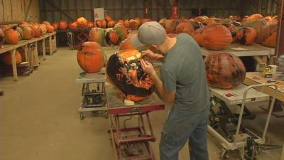 Behind the scenes of the 6th annual Jack-O-Lantern Spectacular