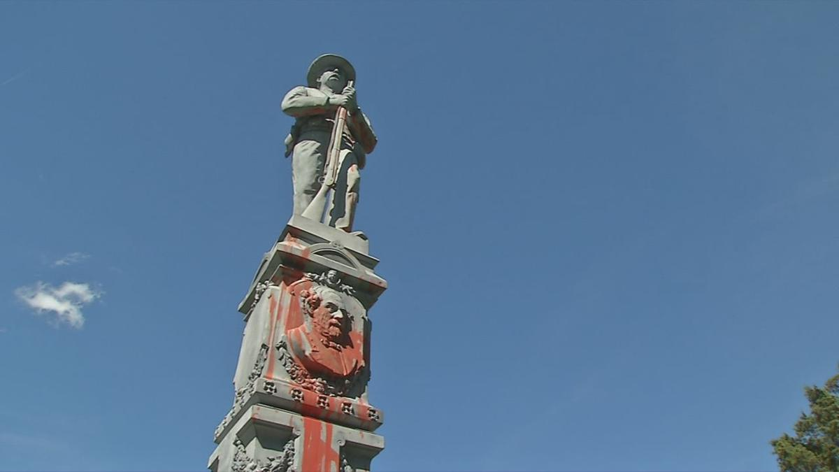 bardstown monument vandalized