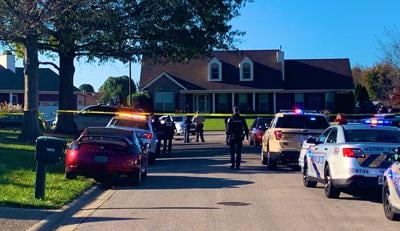 SCENE: Shooting in 5600 block of Vevia Place in Valley Station on Nov. 3, 2020