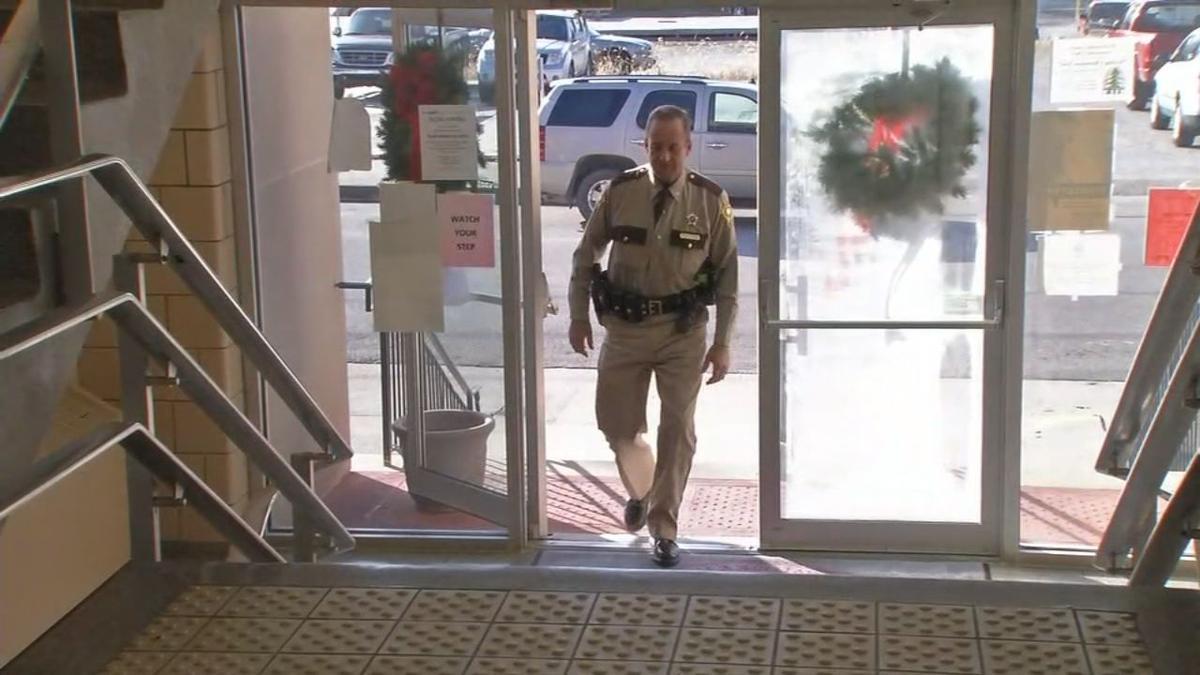 Todd Pate Entering Doorway