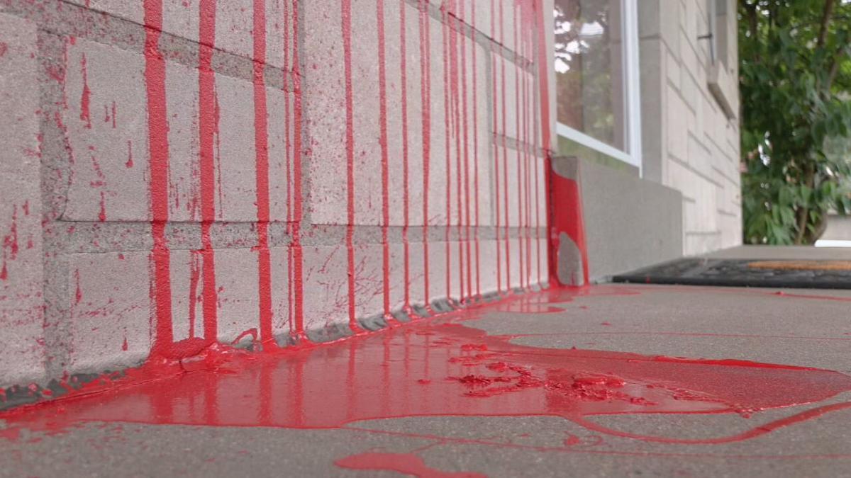 Mchale vandalized home.jpeg