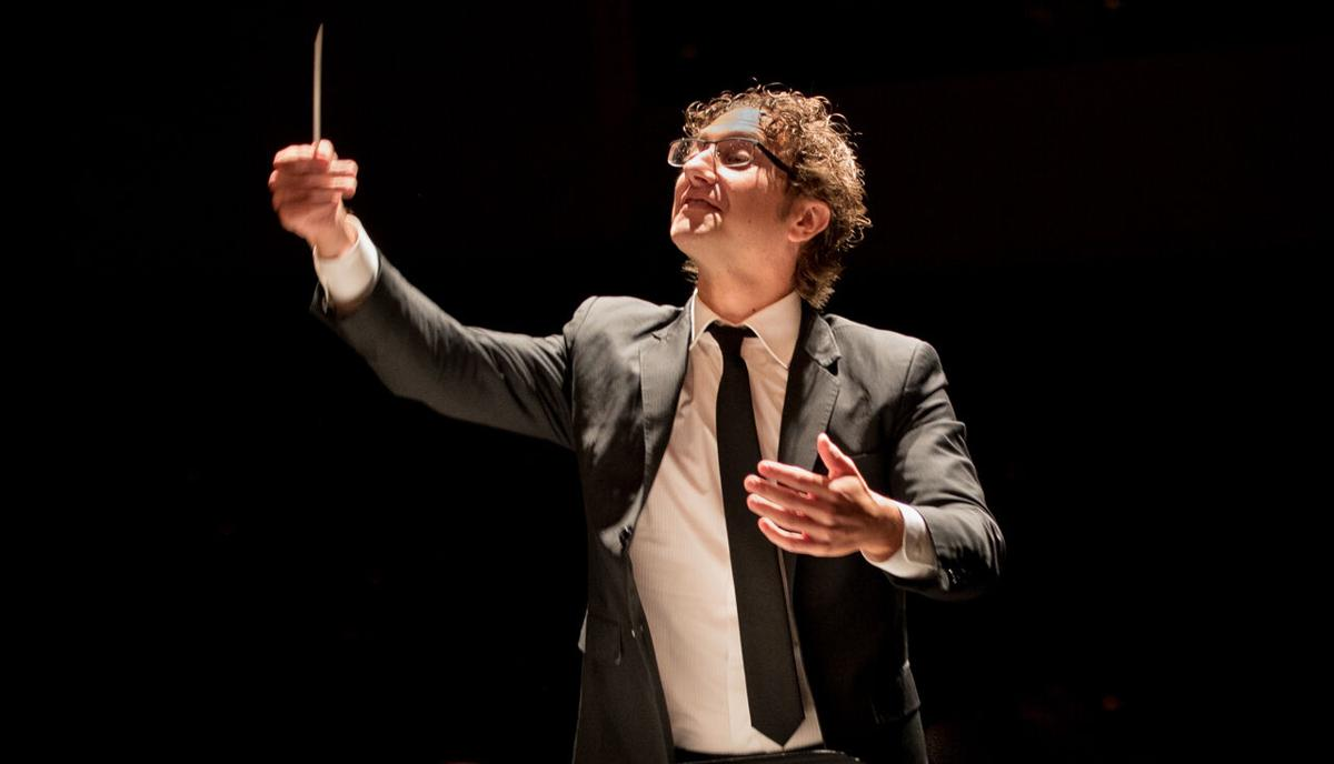 Teddy Abrams, music director for the Louisville Orchestra