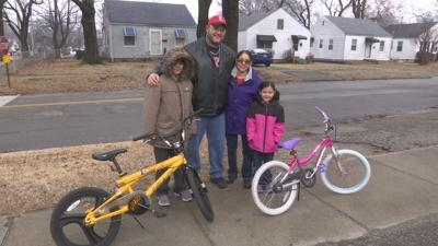Louisville native gives back with bicycles