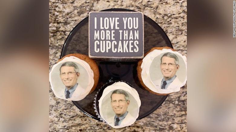 Fauci Cupcakes