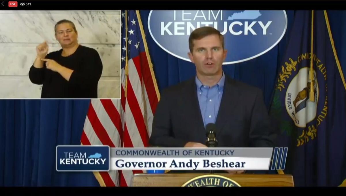 Gov. Andy Beshear Aug. 5, 2020