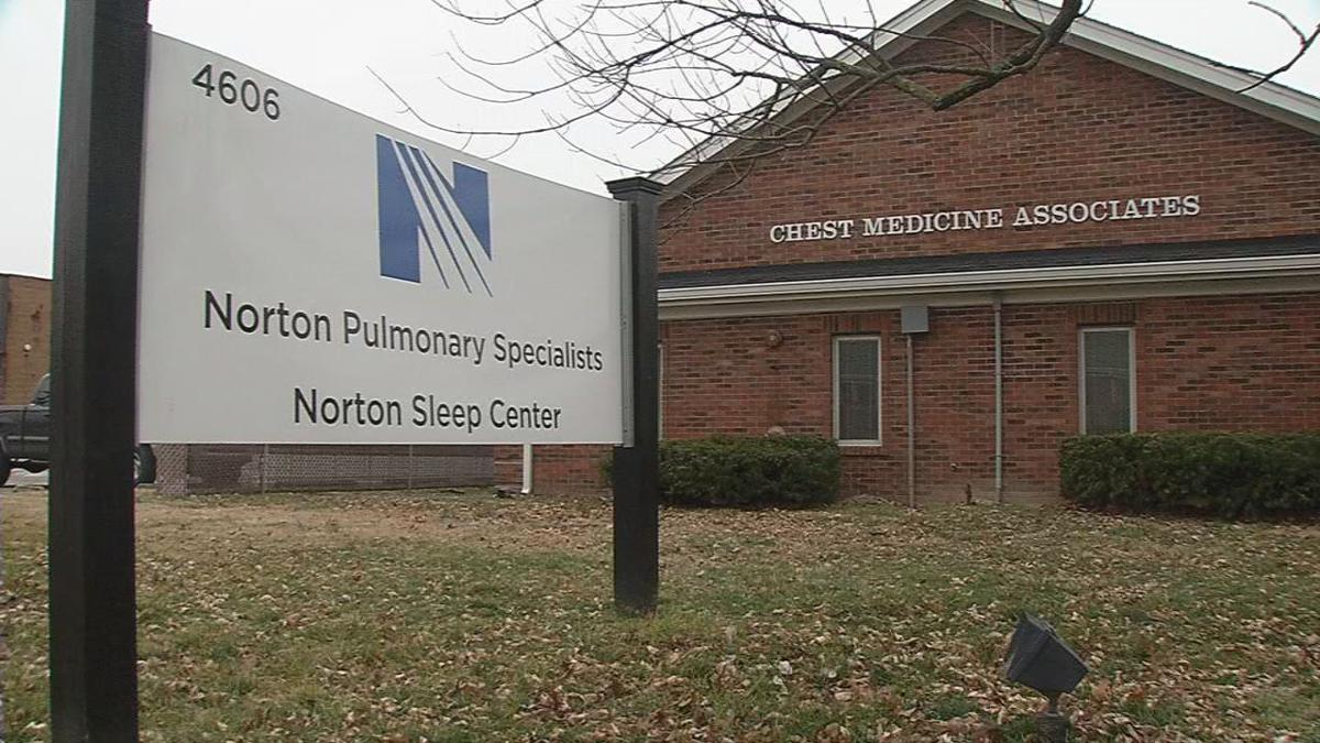 Norton Pulmonary Specialists building on Dixie Highway