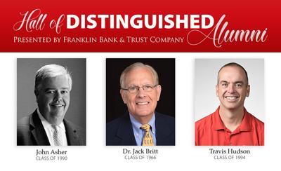 John Asher, Western Kentucky University Hall of Distinguished Alumni
