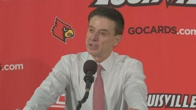 RAW VIDEO | Rick Pitino talks about Louisville's 92-60 win over Clemson