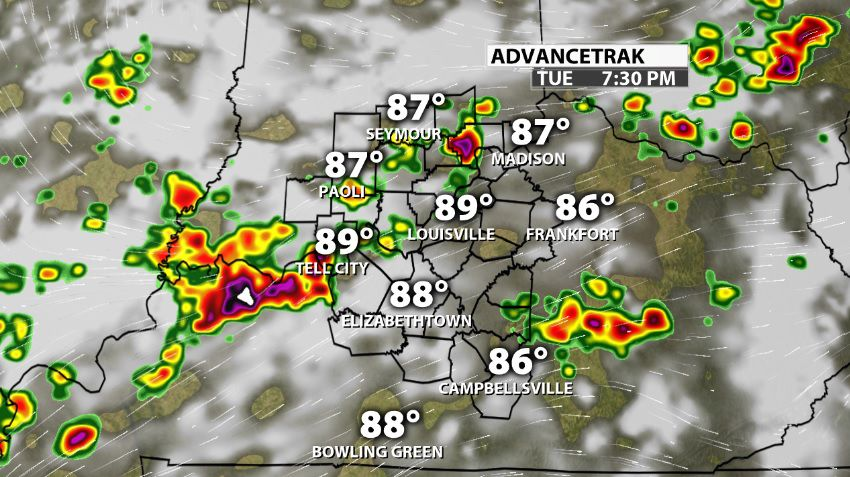 Tuesday Night Storm Potential | Weather Blog | wdrb com