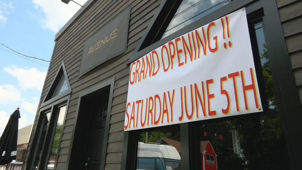 Avenue grand opening on Frankfort Avenue