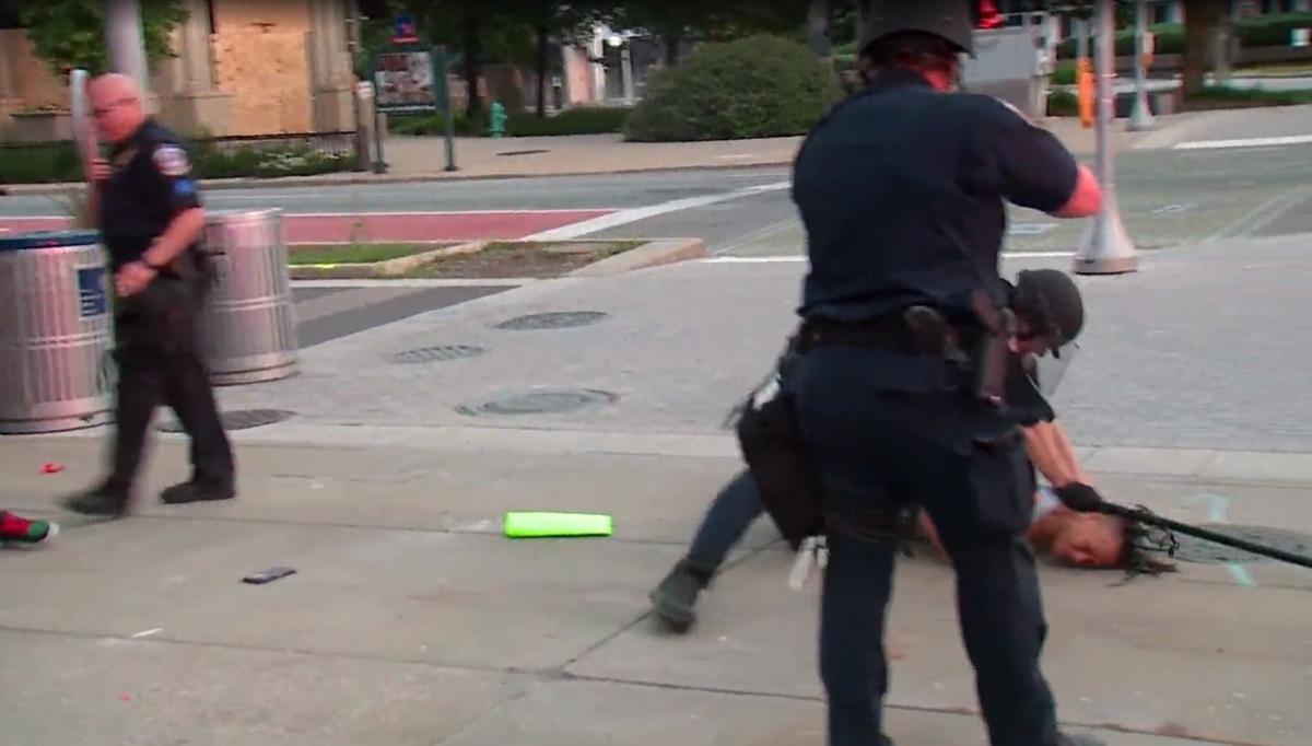 Indianapolis police beating May June 2020