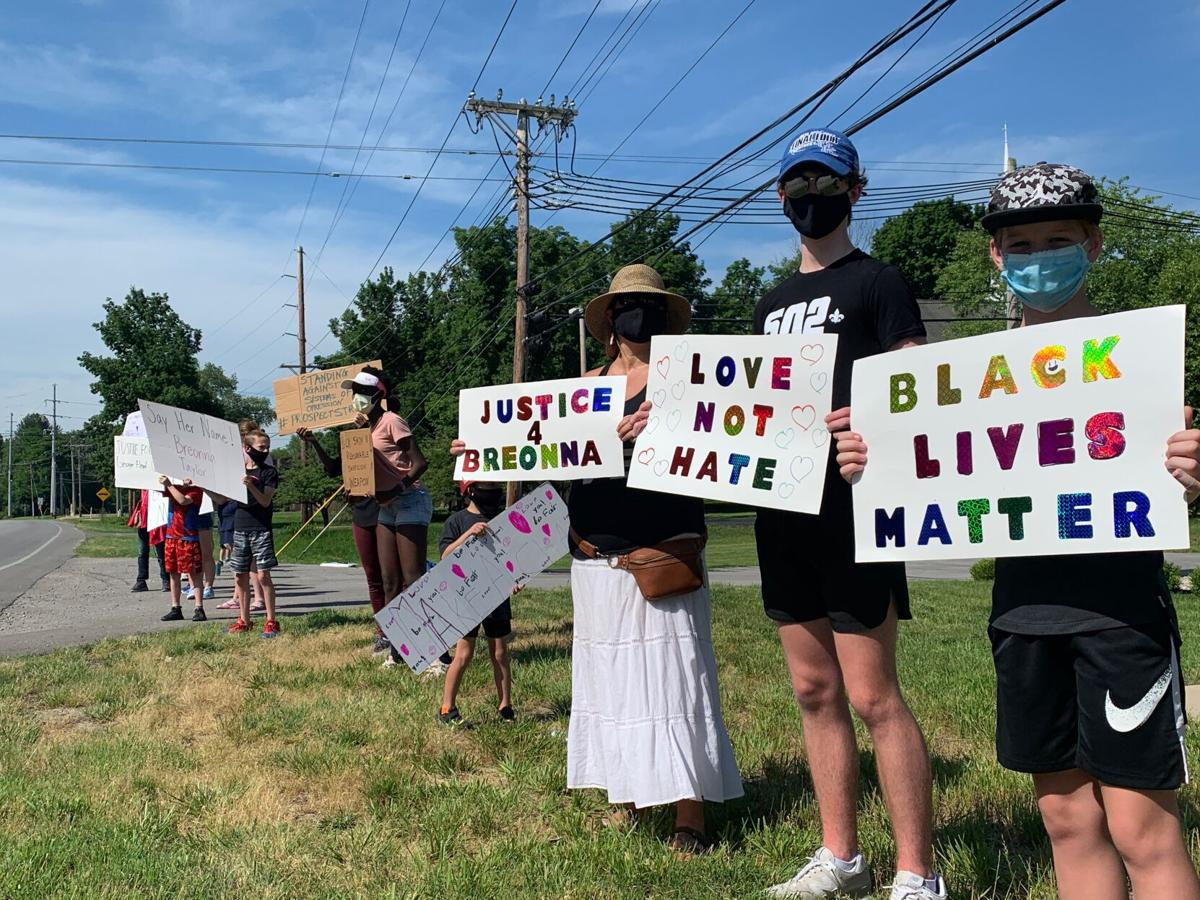 Protesters in eastern Jefferson County join calls for justice for ...