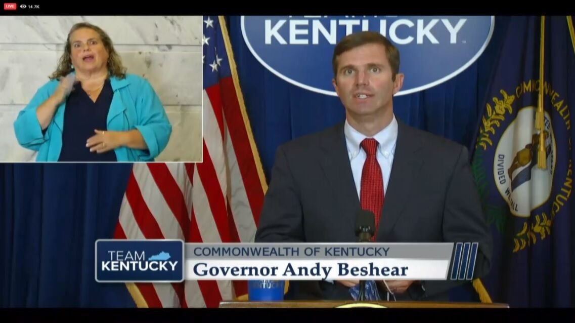 As Cases Spike Kentucky Gov Andy Beshear Again Limits Gatherings Recommends Self Quarantine For Certain Travel News Wdrb Com
