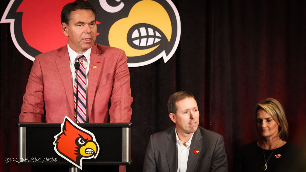 Vince Tyra introduces Scott Satterfield